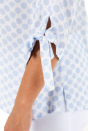 Picture of Tunika s vezanjem na rukavima V ovratnik