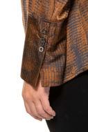 Picture of Bluza grafički motiv s patentnim zatvaračem
